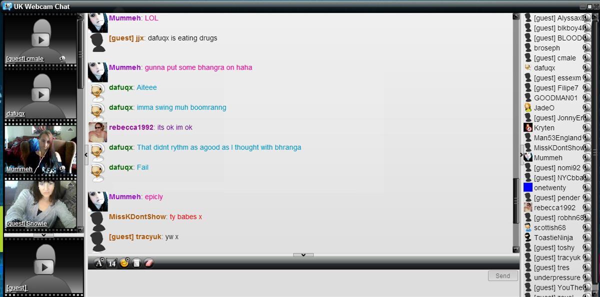 Chat fun chat room